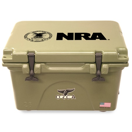 NRA Tan 26qt ORCA Cooler