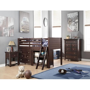 37660 LACEY TWIN LOFT BED