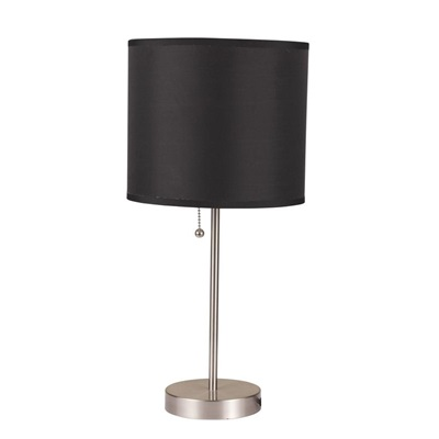 40044 TABLE LAMP W/BLACK SHADE