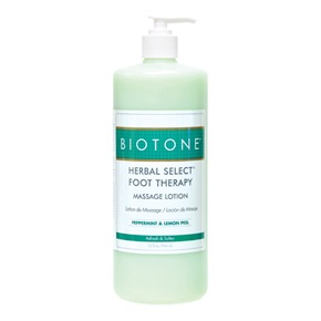 BIOTONE® Herbal Select Foot Therapy Massage Lotion