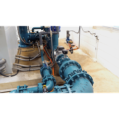View 2 of CCI fertigation system plumbing