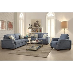 52585 SOFA W/2 PILLOWS