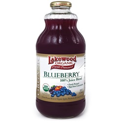 Blueberry Juice (Lakewood), Organic - 12/32oz