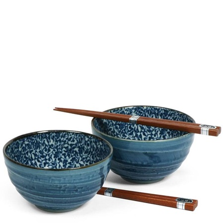 "Kyo Karakusa 5.25"" Bowl For Two Set"