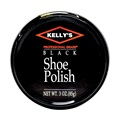 Kelly's Shoe Polish, Black, 3oz Tin
