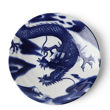 "Flying Dragon 10"" Plate"