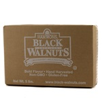 Walnuts, Black Fancy, Large Pieces - 5lb