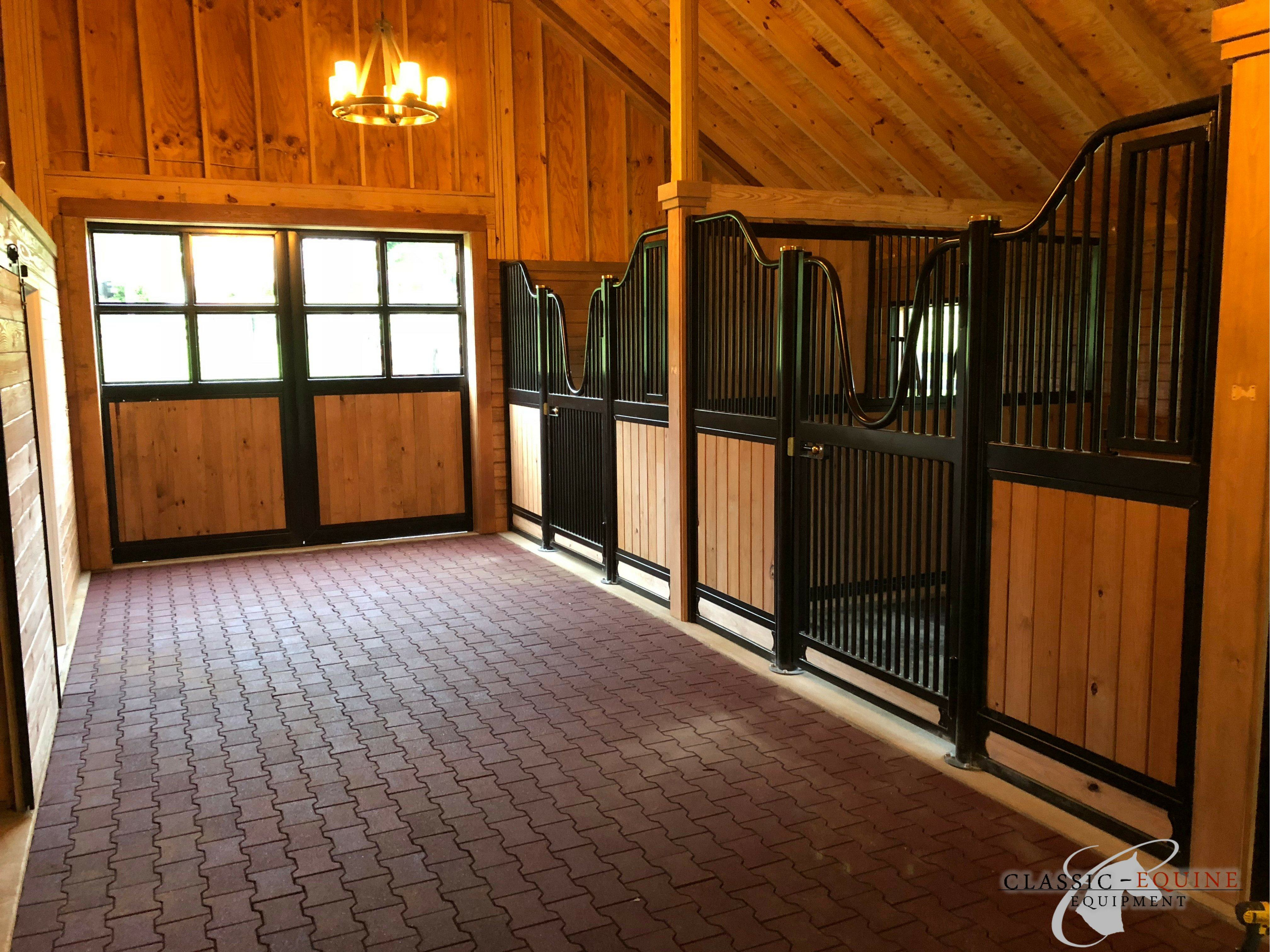 Hinged Horse Stall Doors Best Quality Horse Stalls Made In The Usa