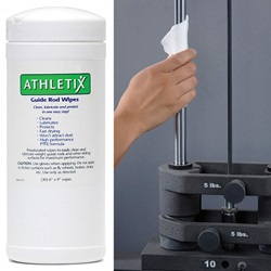 Athletix® Guide Rod Wipes