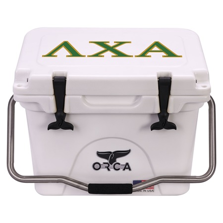 Lambda Chi Alpha White 20 Quart
