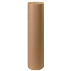 "36"" X 1200' 30 LB BROWN KRAFT PAPER ROLL"