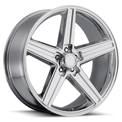 OE Replica 652 Series IROC 22x9.5 5x127 - Chrome