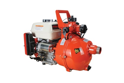 Davey 6.5 HP Twin-Impeller Honda Electric Start Pump