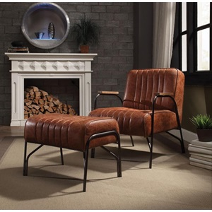 59595 COCOA 2PC PK CHAIR & OTTOMAN