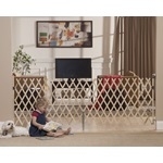 "KeepSafe® 84"" Wood Expansion Gate, Hrdw. Mounted ""TOS"""