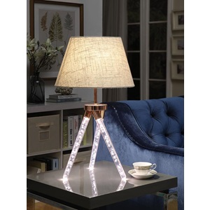 40134 ROSE GOLD TABLE LAMP