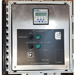 Single control panel for injection system