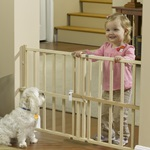 GuardMaster® III Wood Slat Gate, Pressure Mounted