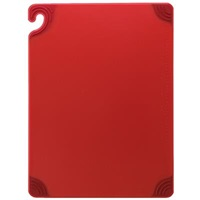 "San Jamar 9"" x 12"" Safe-T-Grip Cutting Board"