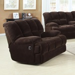 50477 CHOCO CHAMPION ROCKER RECLINER