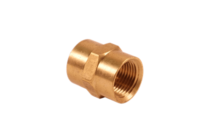 Brass Bar Hex FPT Couplings