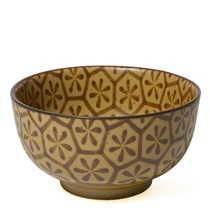 "SEPIA 5"" HEXAGON BOWL"