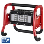 Streamlight High Lumen Rechargeable Portable Scene Light II with 120V AC/12V DC - Red