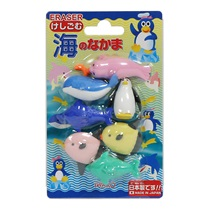 Iwako Marine Animals Eraser Pack