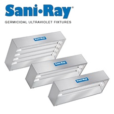SaniRay® Ultraviolet Recessed Air Surface Irradiating Fixtures