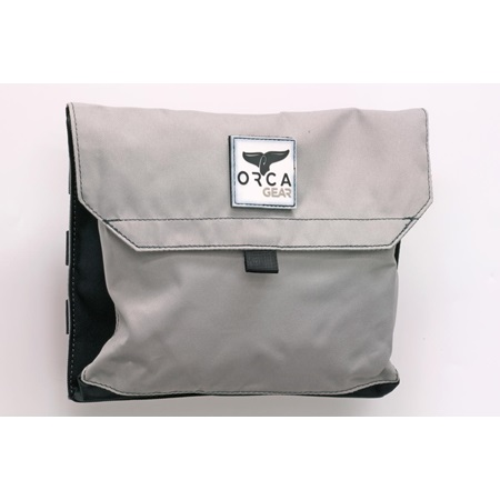 Large Pouch Grey/Black