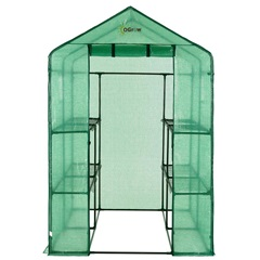 Heavy Duty Walk-In 2 Tier Greenhouse