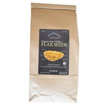 Organic Raw Golden Flax Seeds (5 lb)