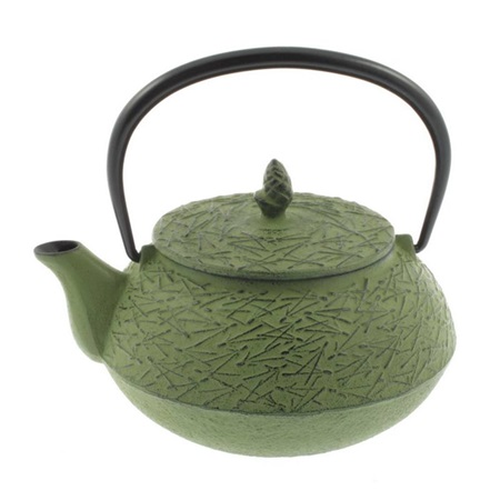Cast Iron Teapot Grass Pine Needle 0.65L