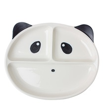 PANDA SECTIONED PLATE