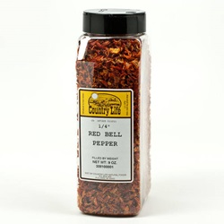 Pepper, Red Bell - Dried (9oz)