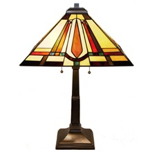 "23.5""H Mission Style Lamp"