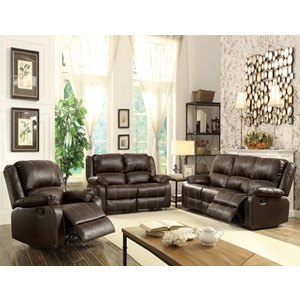 52281 BROWN MOTION LOVESEAT