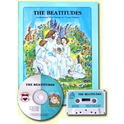 Thy Word - The Beatitudes - KJV - 1 Book w/CD