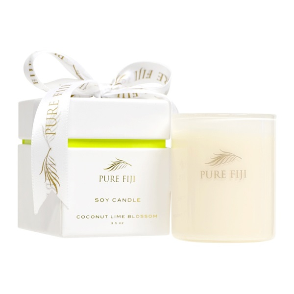 Pure Fiji Soy Wax Candle 3oz