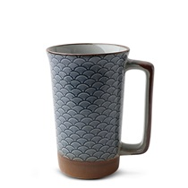 Blue Vintage Waves 10 Oz. Mug