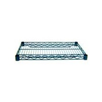 "Advance Tabco EG-1424-X 24"" Green Epoxy Shelf Wire Shelving"