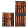 Wood Carvings Chopstick Set
