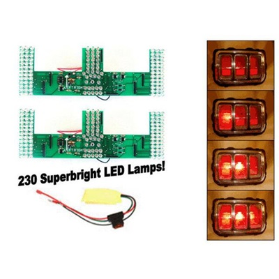 1970 Mustang LED Sequential Tail Light Kit (Easy Install)