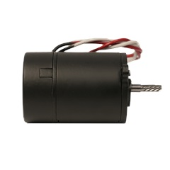 Blue-White Replacement 24v DC Motor Side View