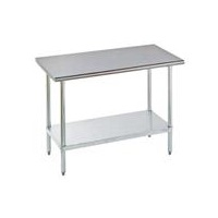 "Advance Tabco FLAG-303-X SS Economy 30"" x 36"" Work Table"