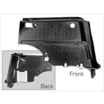 Fastback Rear Interior Panels (ABS, Pair)
