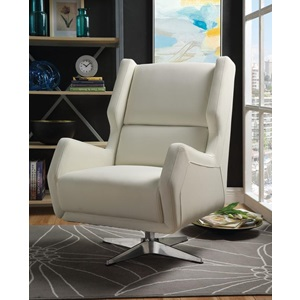 59735 WHITE ACCENT CHAIR