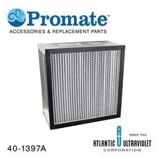 "Filter: Absolute 13-7/8"" x 13-7/8"" x 5-7/8"" Aluminum Frame"