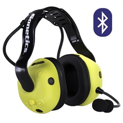 Apex 375 Wireless Bluetooth Headset - Overhead configuration