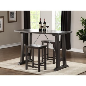 72075 GRAY 3PC PK COUNTER HEIGHT SET